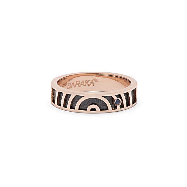 Baraka Italian luxury jewellery ring Meteorite Tematica Safijen
