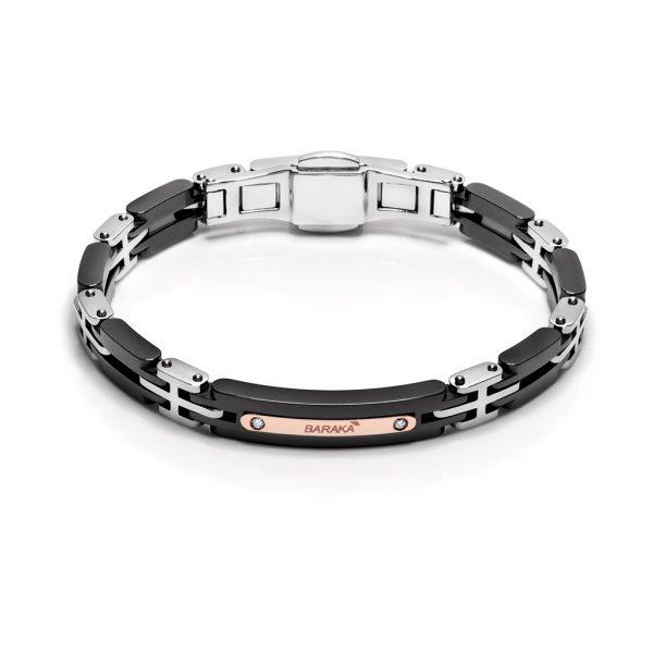 bracelet for man creamic stainless Explore Freetime Baraka Italian luxury jewellery Pfaeffikon SZ