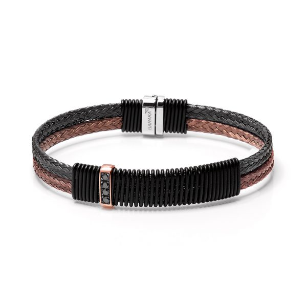 Bracelet Baraka Italian luxury jewellery 316L Tematica Switzerland