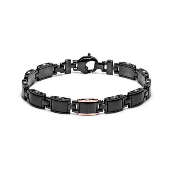 black ceramic bracelet collection black-one Freetime Baraka Italian jewellery Safijen boutique Pfaeffikon SZ