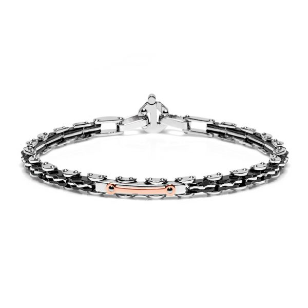 Stainless bracelet Baraka Italian luxury jewellery Discovery Freetime Safijen boutique Pfaeffikon SZ