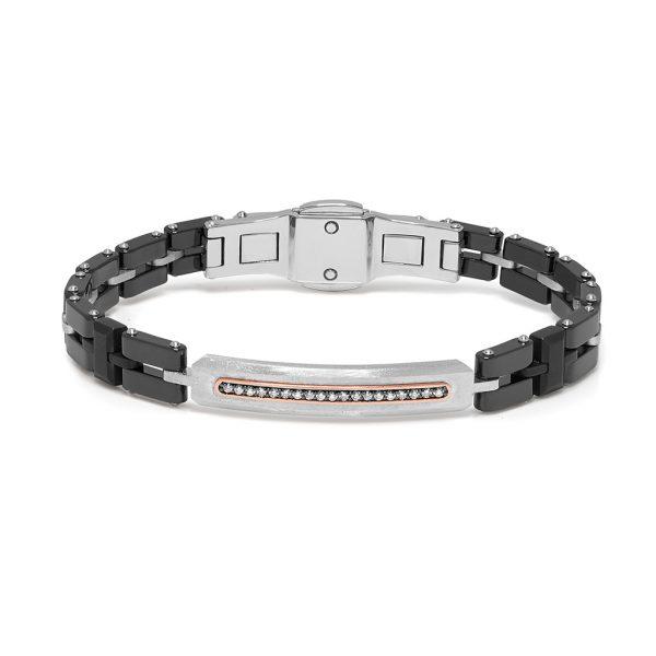 ceramic and diamonds bracelet Baraka Italian jewellery Official boutique in Switzerland