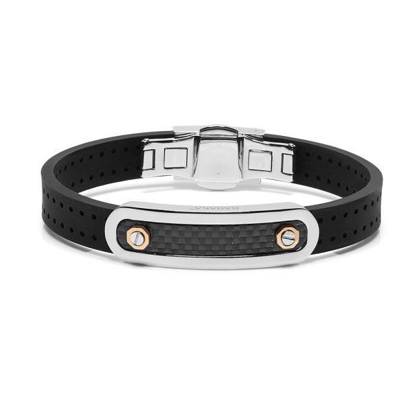 Carbon fiber bracelet for man Fiber collection Baraka jewellery Pfaeffikon SZ