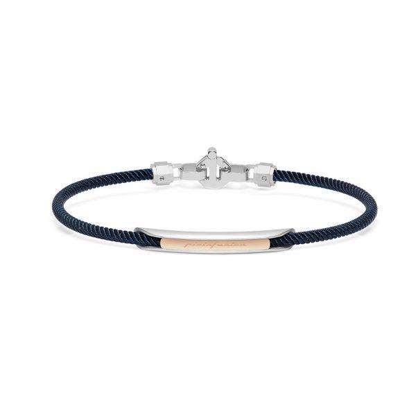 Barakà by Pininfarina blue and rose gold bracelet for man Pfaeffikon SZ