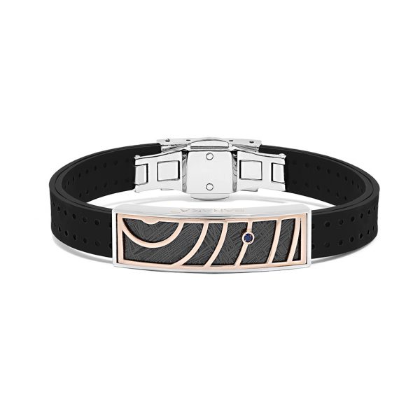 white and rose gold bracelet for man by Baraka italian jewellery Safijen boutique Pfaeffikon SZ