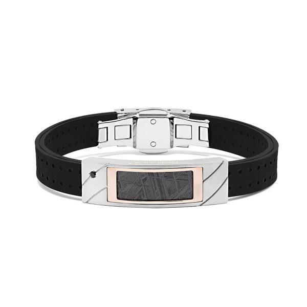Meteorite bracelet for man Baraka italian jewellery Pfaeffikon SZ