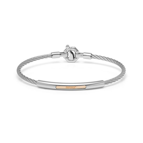 silver bracelet for man by Baraka jewellery Safijen Fashion