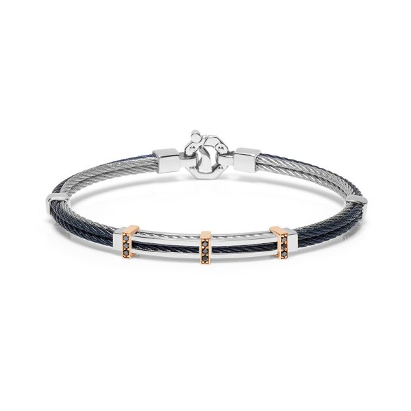 black diamonds bracelet for man Baraka design boutique Pfaeffikon SZ