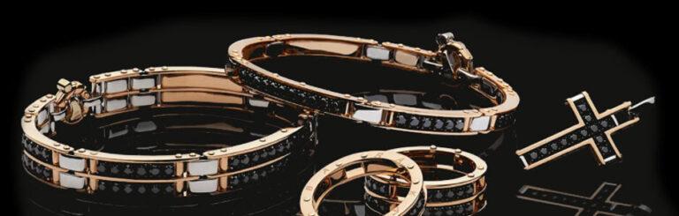 Barakà herrenschmuck armbänder kreuze gold diamant