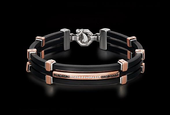 Rose gold bracelet schmuck barakà BR214411ROBN220020